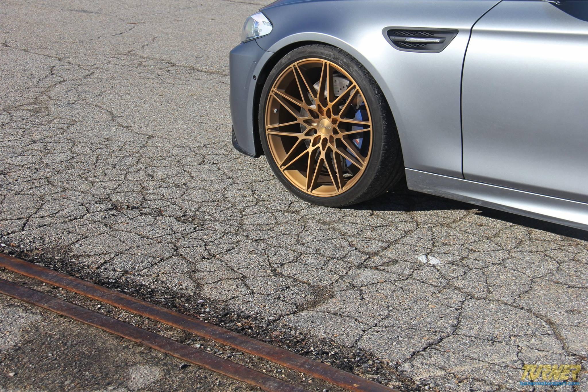 Turner BMW M5 Forgeline wheels 5