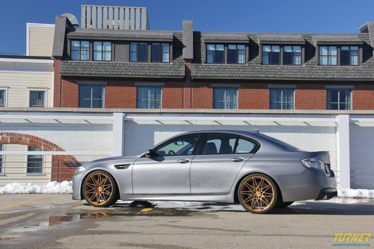 Turner BMW M5 Forgeline wheels 750x500
