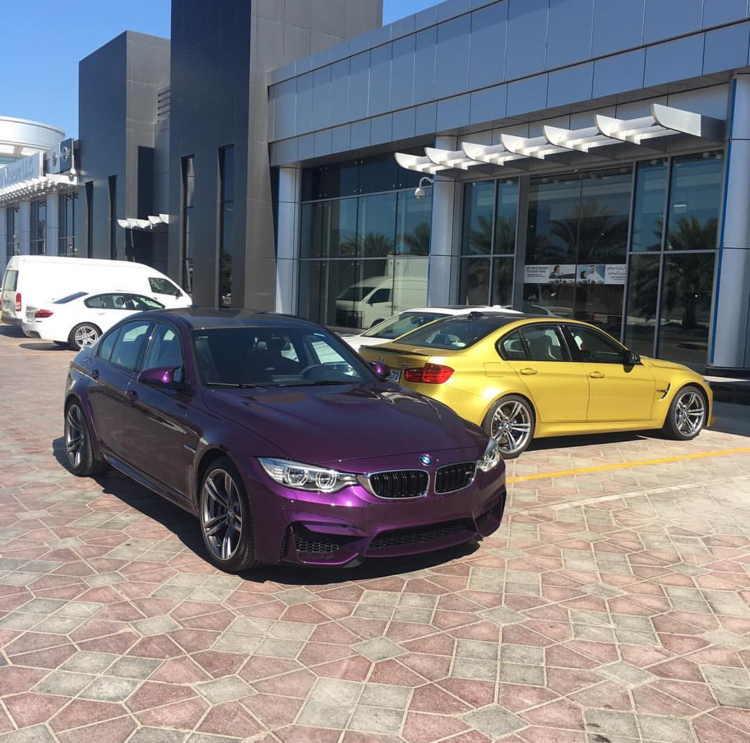 Bmw F80 M3 Gets A Special Color Twilight Purple