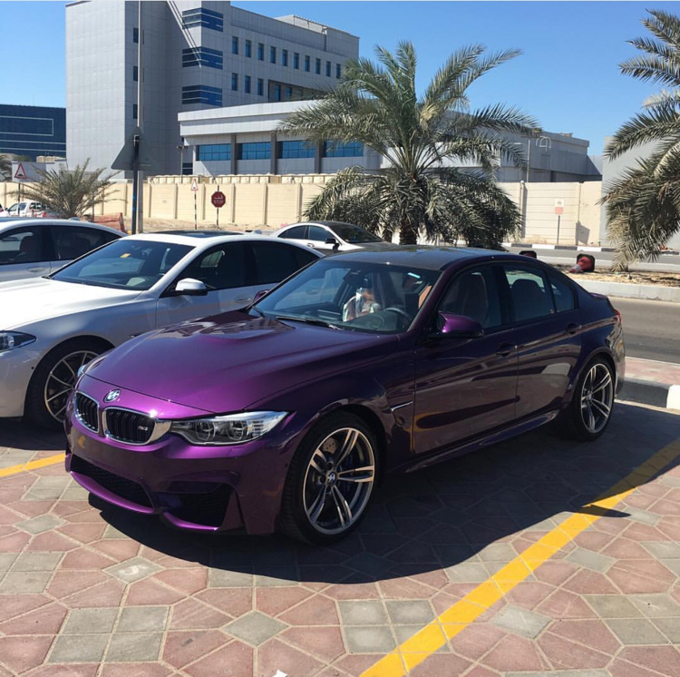 Bmw Z3 Colours: BMW F80 M3 Gets A Special Color