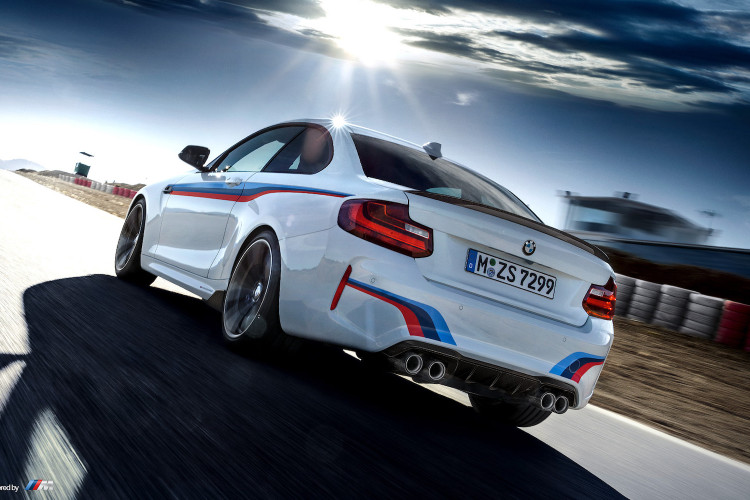 See It In Action Bmw M2 With M Performance Parts On The Race Track