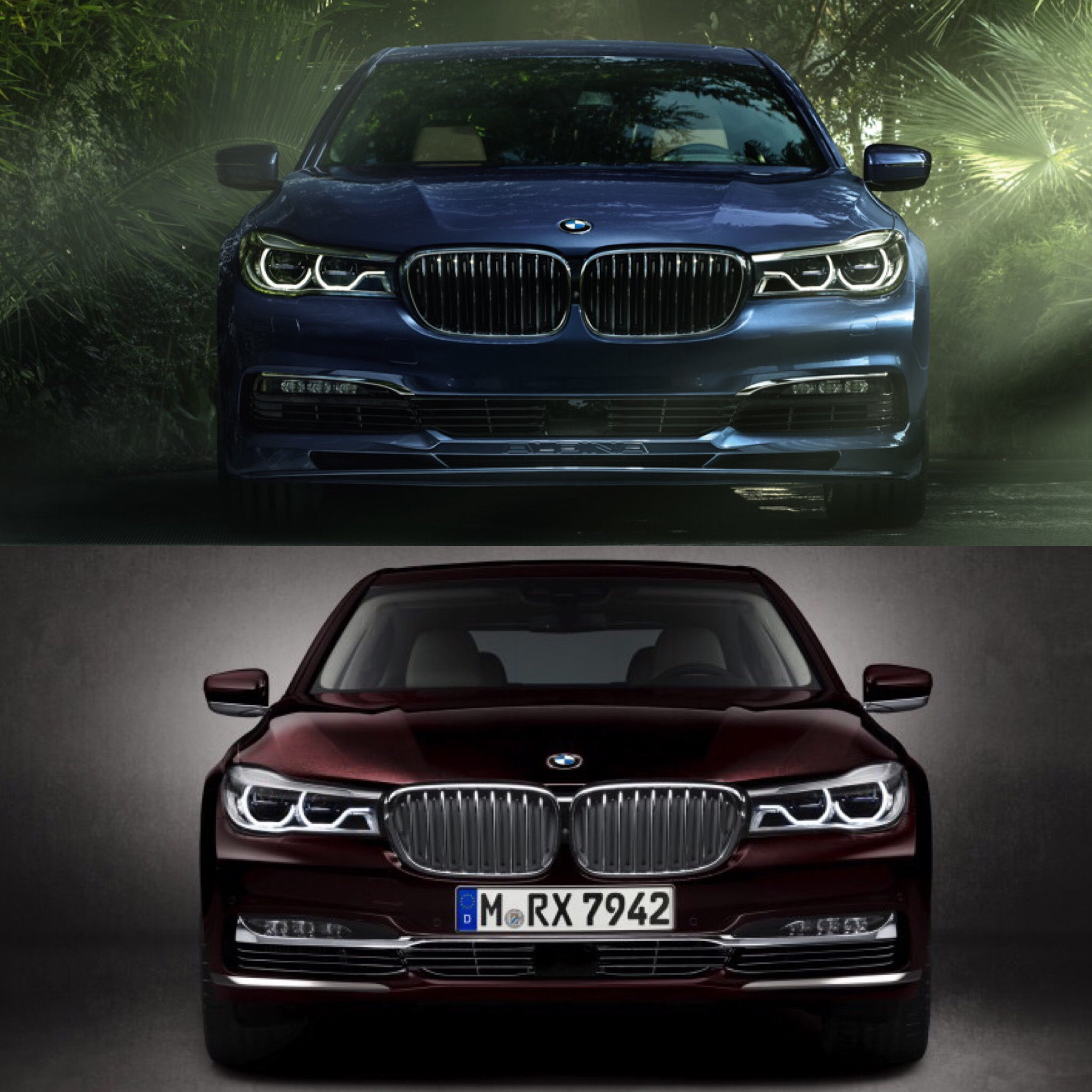 Bmw Palm Springs >> Alpina B7 vs BMW M760Li xDrive