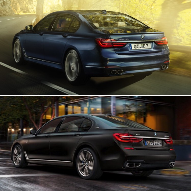 BMW M760Li vs Alpina B7