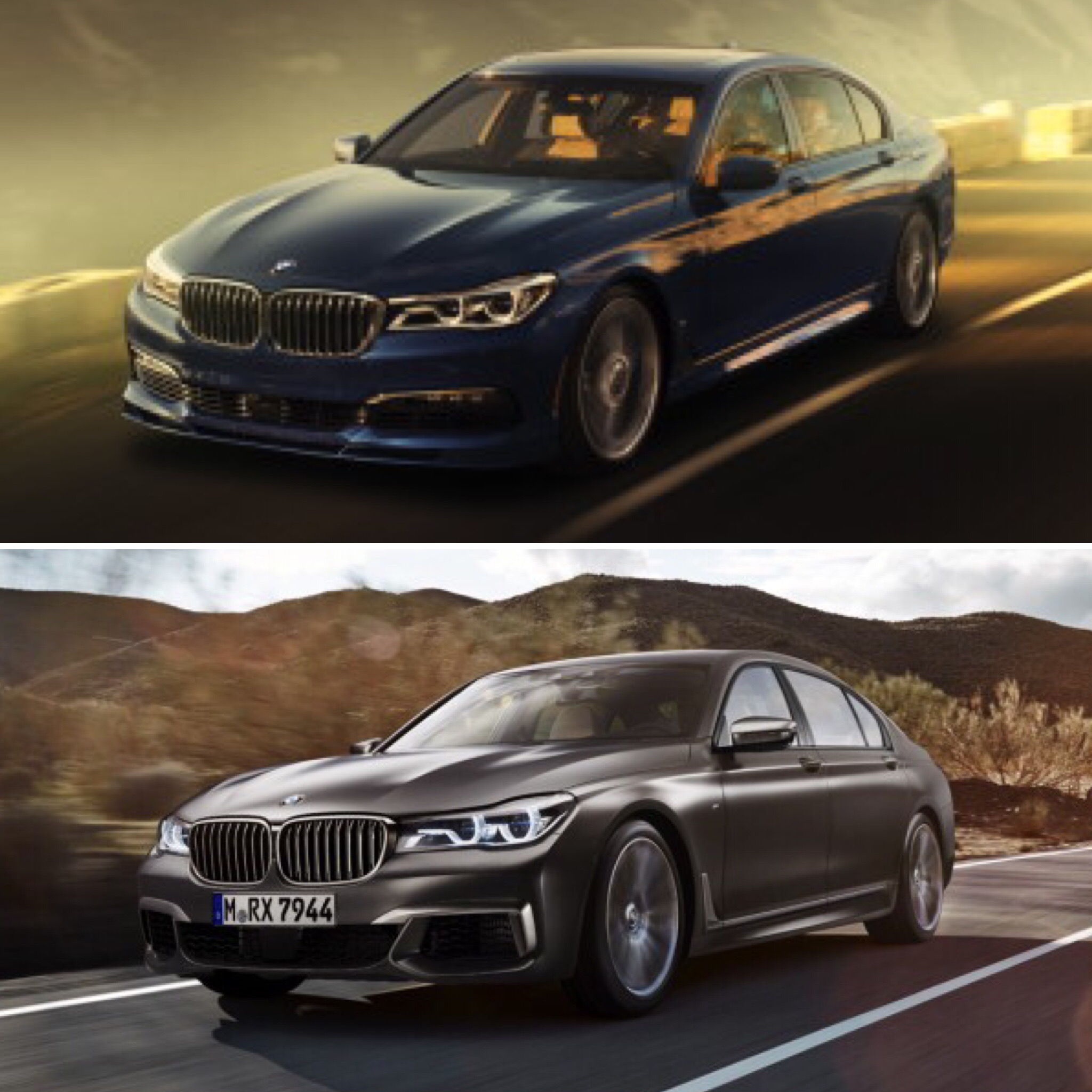 Alpina B7 vs BMW M760Li xDrive