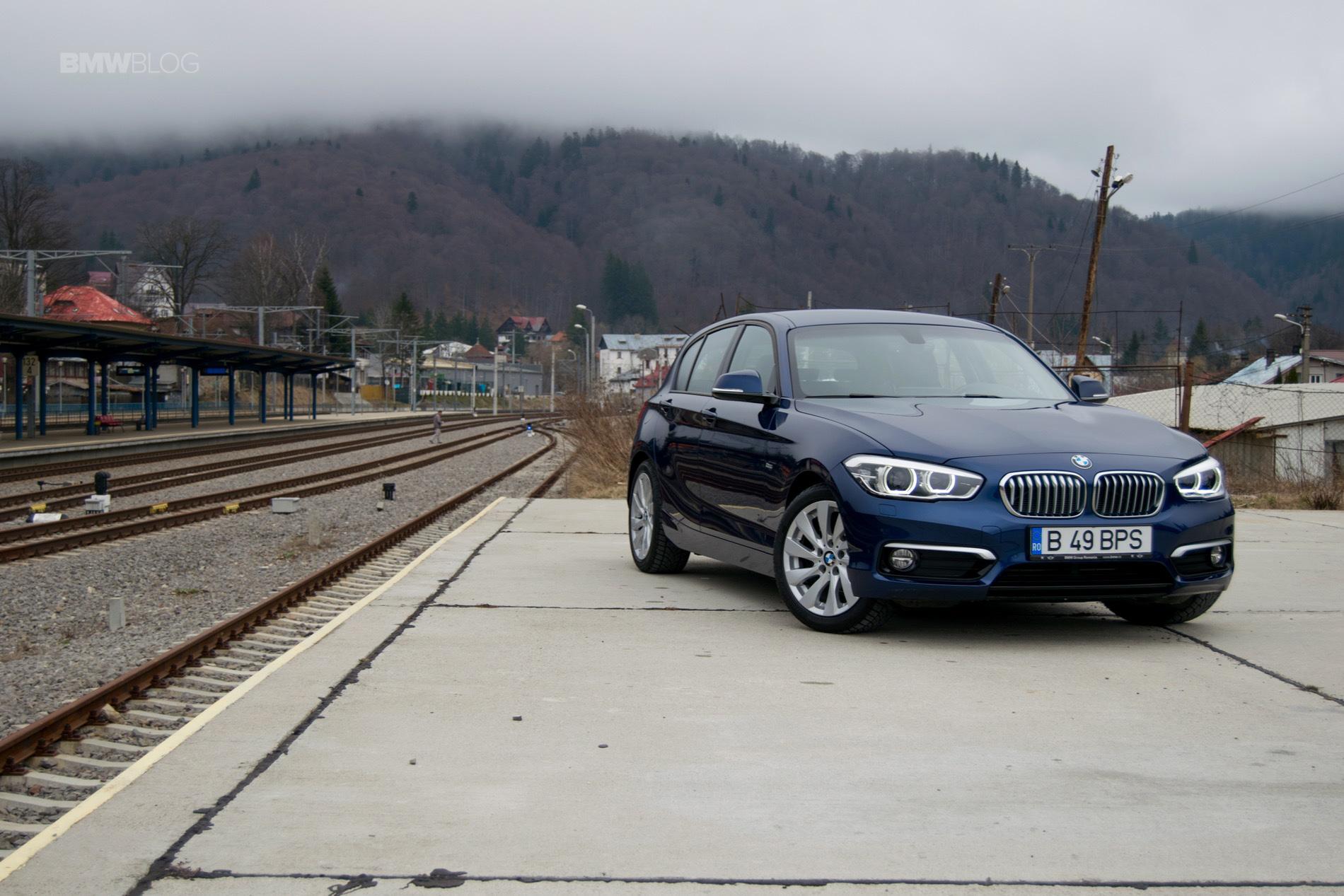 2016 BMW 116d test drive review 68