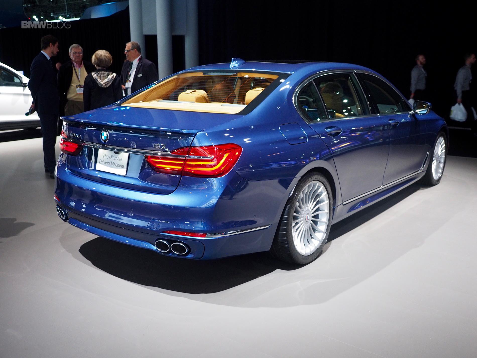 2016 New York Auto Show: BMW ALPINA B7 makes U.S. debut