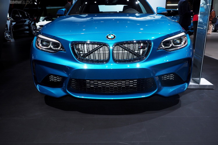 BMW M2 is still one of the main attractions in auto show circuit