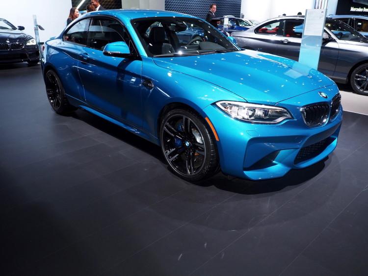 2016 BMW M2 New York Auto Show 11 750x563
