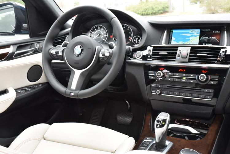 2016 BMW X4 M40i Long Beach Blue drive 8 750x501