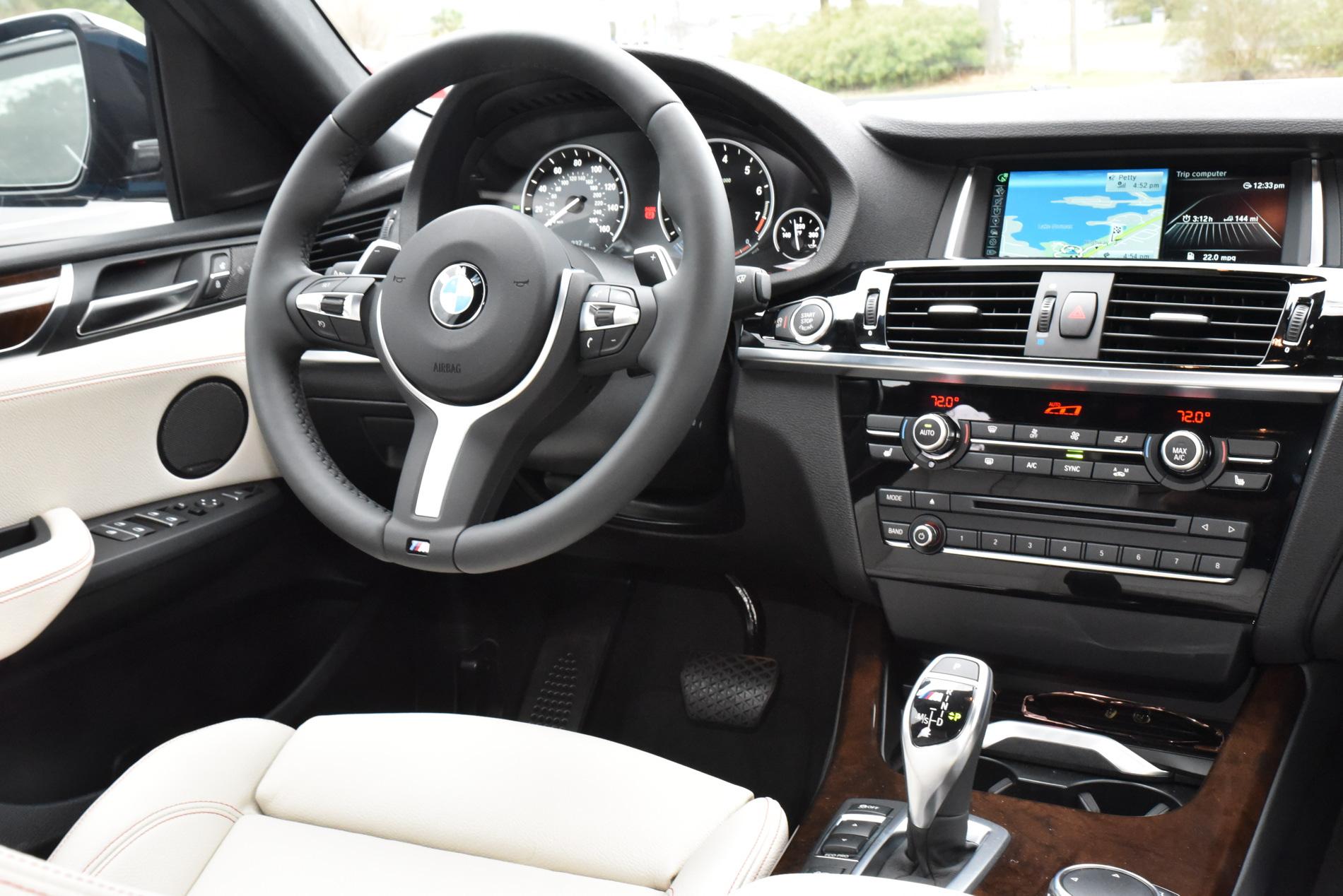 2016 BMW X4 M40i Long Beach Blue Drive 8