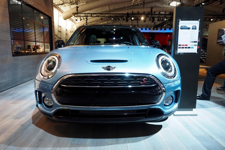 2016 MINI Clubman ALL4 New York Auto Show 10 750x500