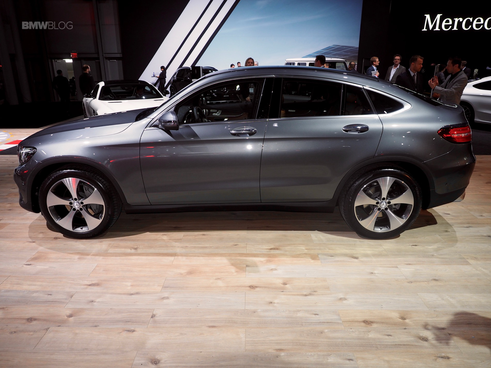 X4 Tuning >> 2016 NYIAS: Mercedes-Benz GLC Coupe - BMW X4 competitor