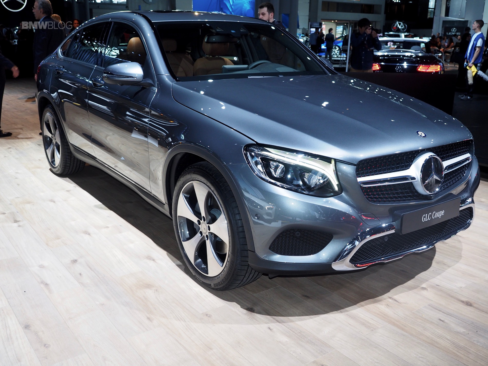 2016 Nyias Mercedes Benz Glc Coupe Bmw X4 Competitor