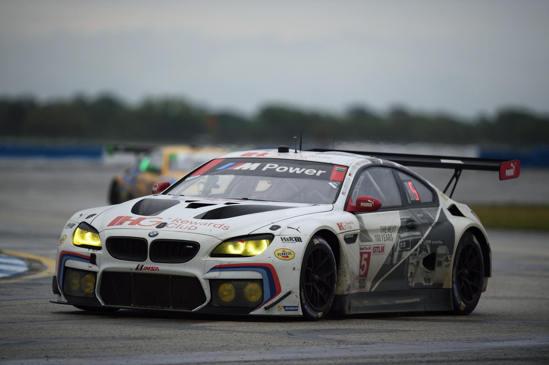 2016 Sebring BMW M6 GTLM results 42