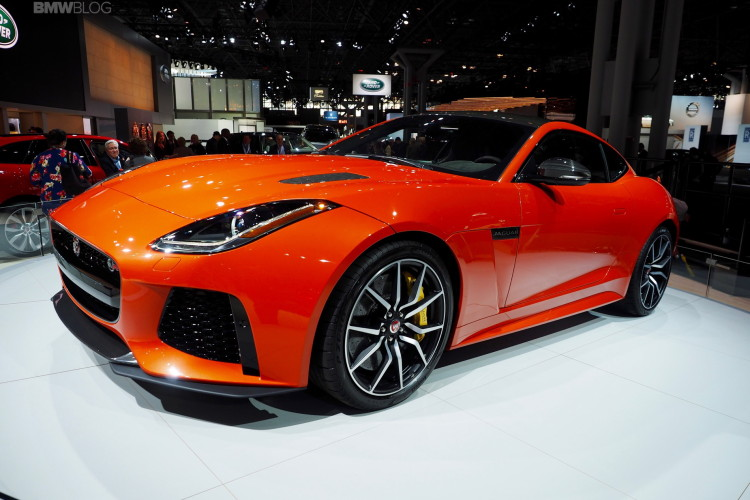 2017 jaguar f-type svr one of the hottest cars at new york auto show