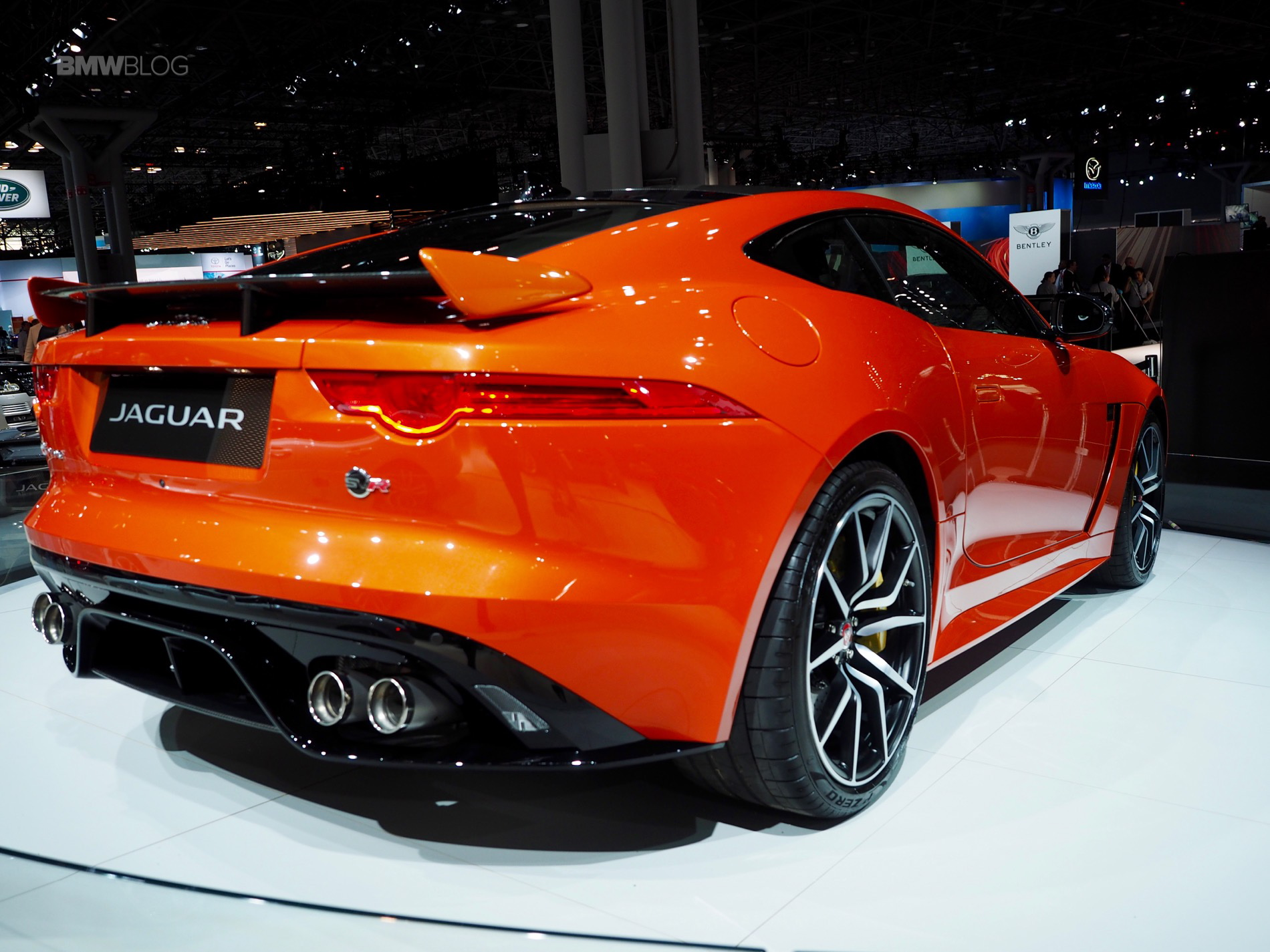 2017 Jaguar F-Type SVR one of the hottest cars at New York ...