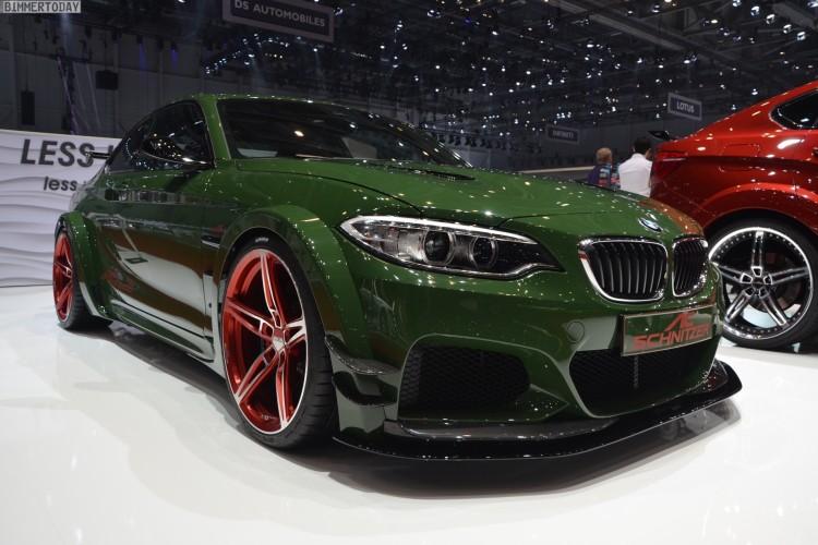 AC Schnitzer ACL2 BMW M235i F22 Tuning Autosalon Genf 2016 LIVE 01 750x500