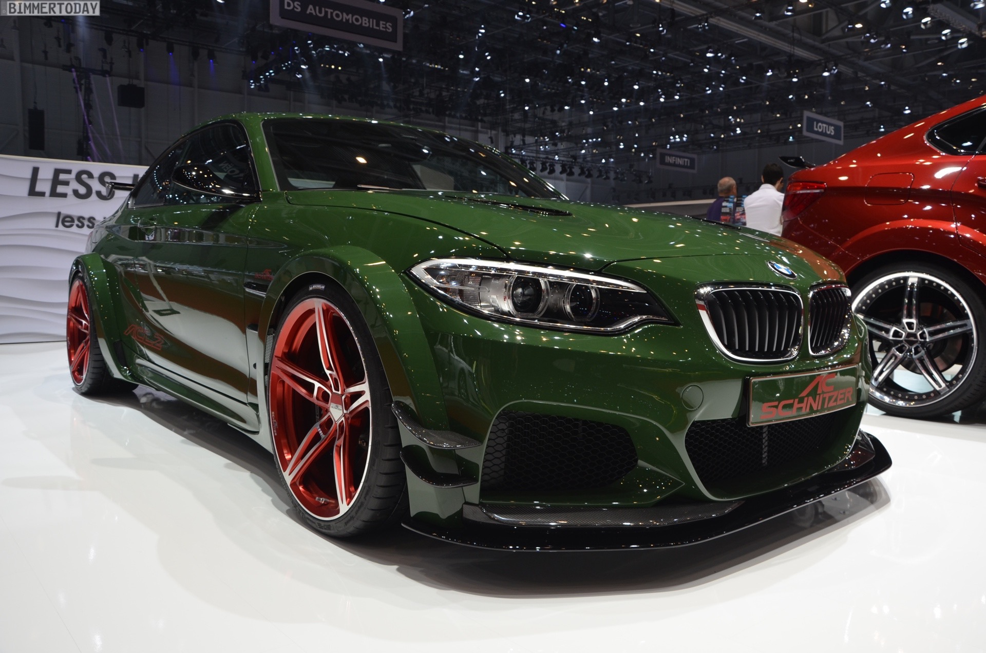 Ac Schnitzer Acl2 With 570 Horsepower Live From 2016