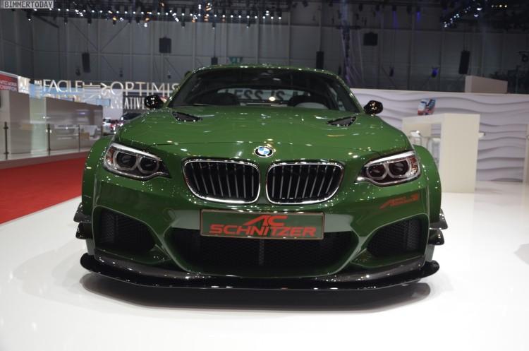 AC Schnitzer ACL2 BMW M235i F22 Tuning Autosalon Genf 2016 LIVE 05 750x497