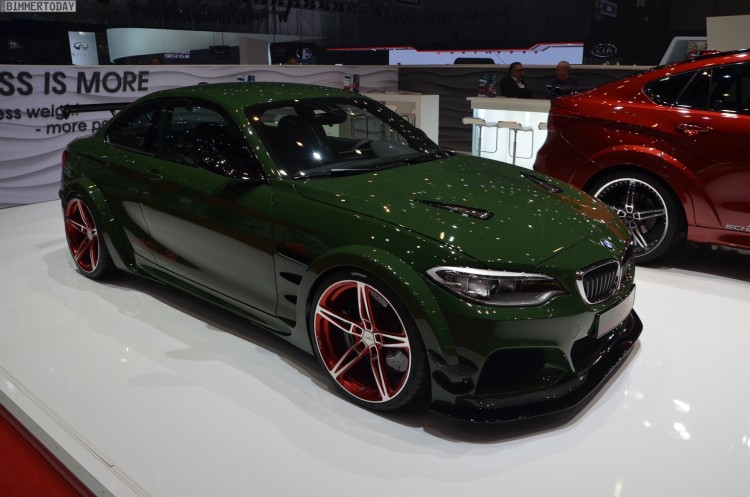 AC Schnitzer ACL2 BMW M235i F22 Tuning Autosalon Genf 2016 LIVE 15 750x497