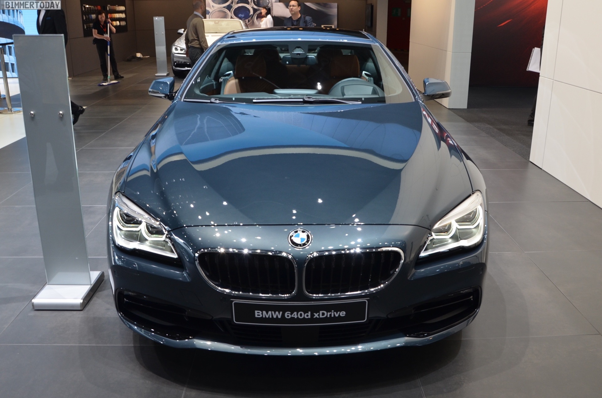 This Bmw 6 Series Coupe In Orinoco Metallic Is One Of A Kind