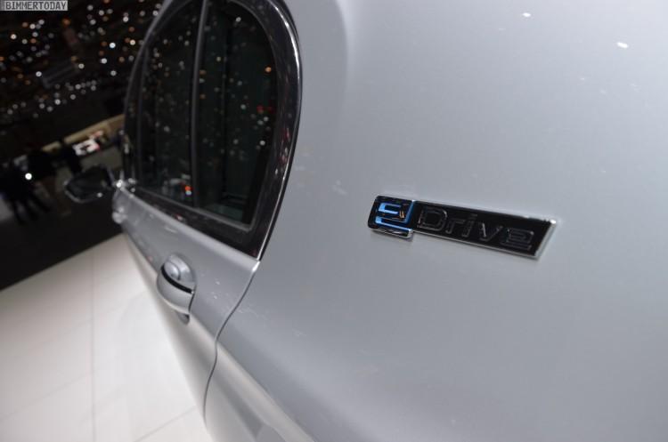BMW 740Le G12 iPerformance 7er Hybrid 2016 Genf Autosalon Live 13 750x497