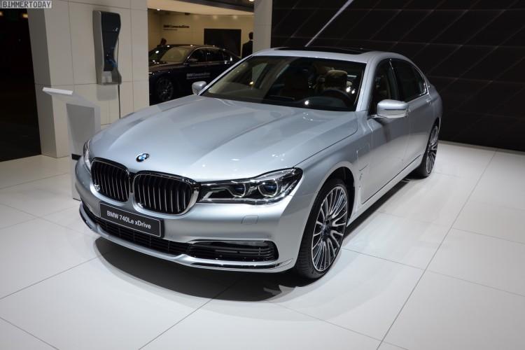 BMW 740Le G12 iPerformance 7er Hybrid 2016 Genf Autosalon Live 15 750x500