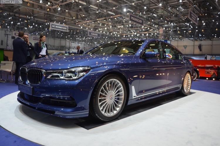 BMW Alpina B7 xDrive G12 V8 BiTurbo 7er Autosalon Genf 2016 LIVE 14 750x497