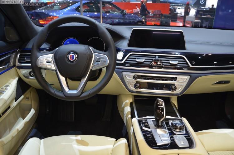 BMW Alpina B7 xDrive G12 V8 BiTurbo 7er Autosalon Genf 2016 LIVE 30 750x497