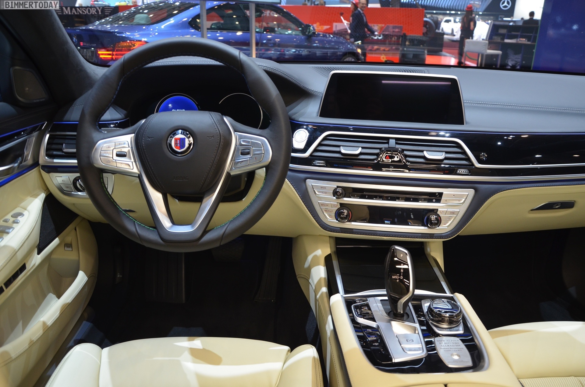 The New Alpina B7 Shines At The 2016 Geneva Motor Show