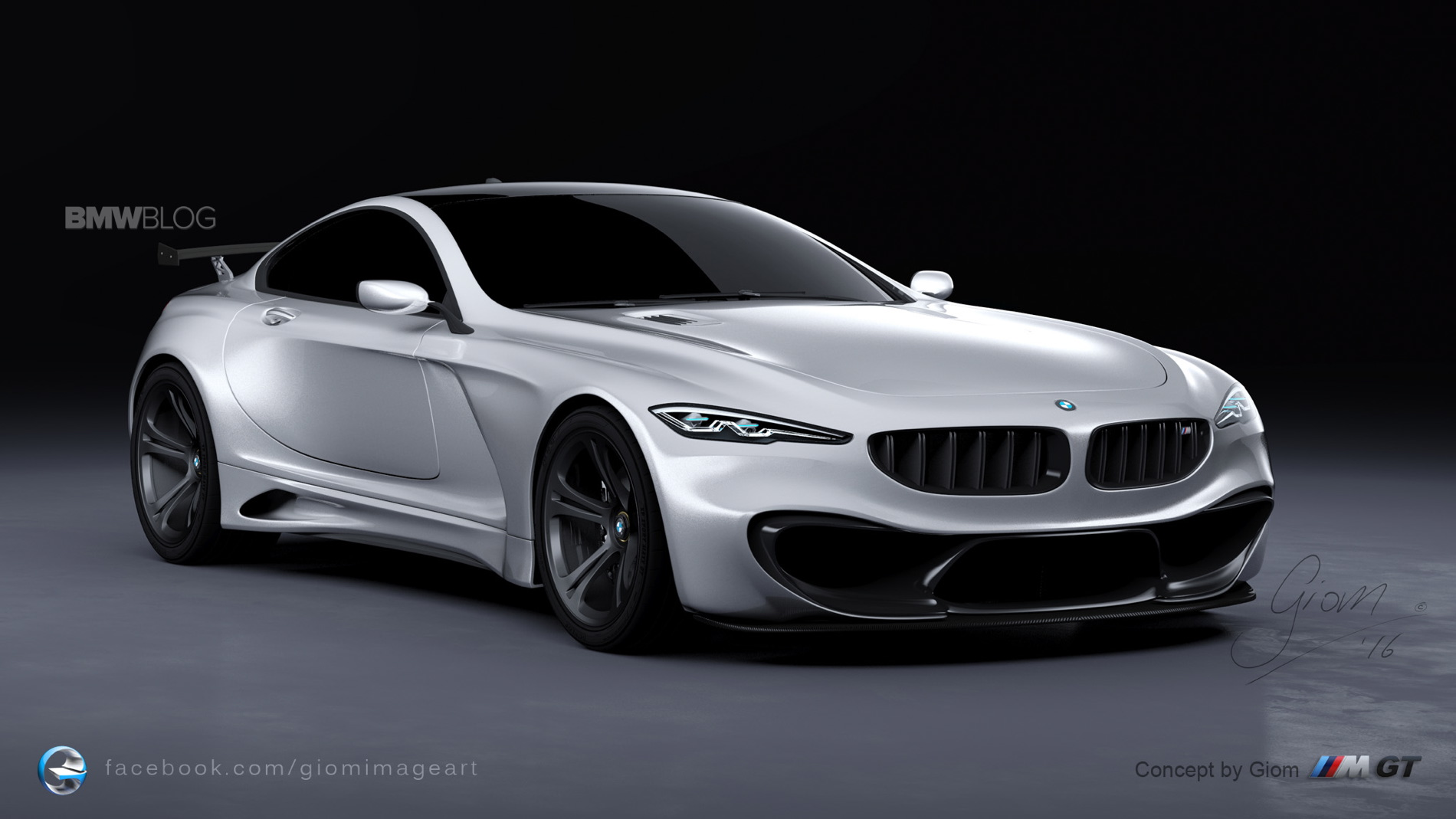 design study what a bmw m gt could look like. Black Bedroom Furniture Sets. Home Design Ideas