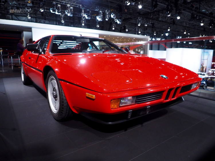 BMW M1 New York Auto Show 5 750x563