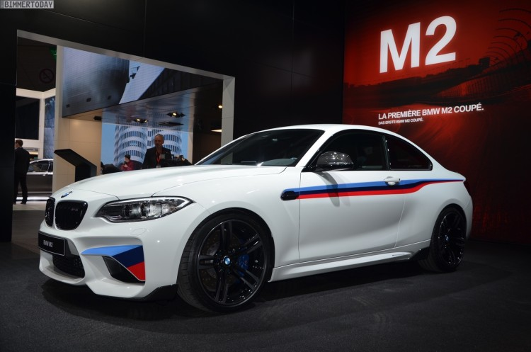 BMW M2 Coupe F22 M Performance Zubehoer Autosalon Genf 2016 LIVE 01 750x497