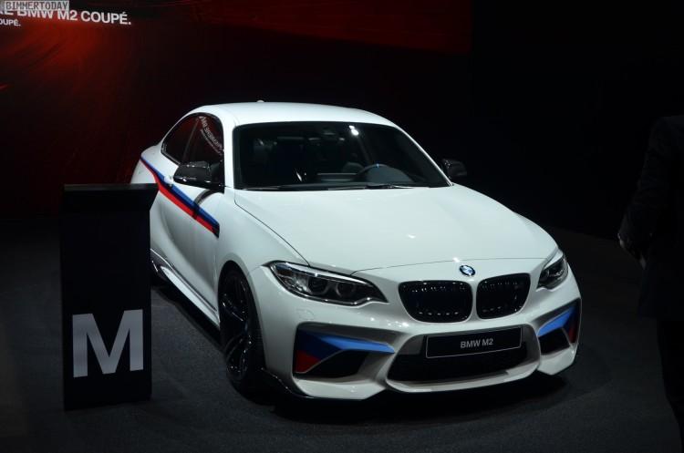 BMW M2 Coupe F22 M Performance Zubehoer Autosalon Genf 2016 LIVE 15 750x497