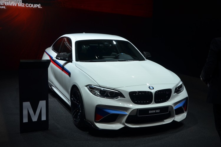 BMW M2 Coupe F22 M Performance Zubehoer Autosalon Genf 2016 LIVE 15 750x500