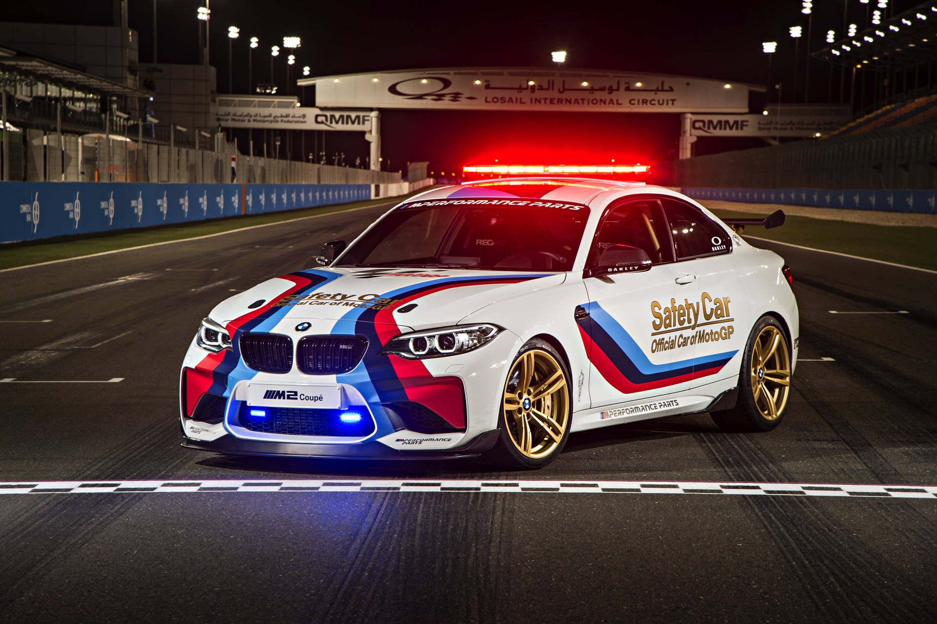 BMW M2 MotoGP Safety Car images 1