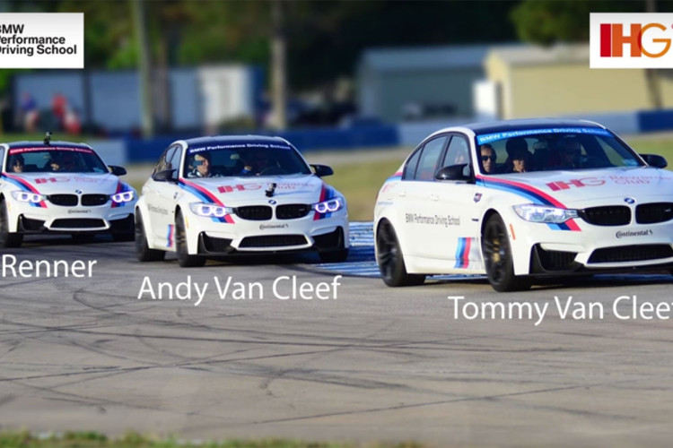 BMW M3 Sebring hot laps 750x500
