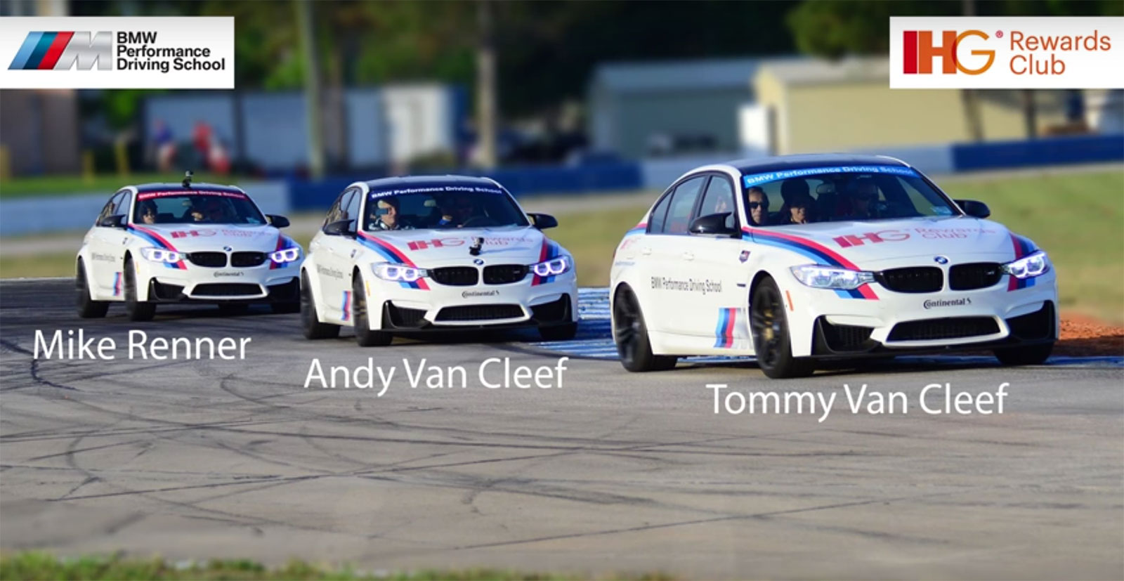BMW M3 Sebring hot laps