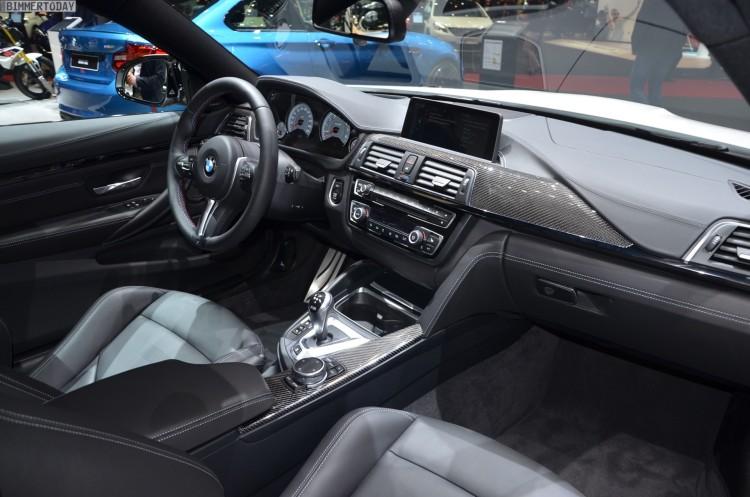 BMW M4 F82 Coupe Competition Paket 2016 Genf Autosalon Live 21 750x497