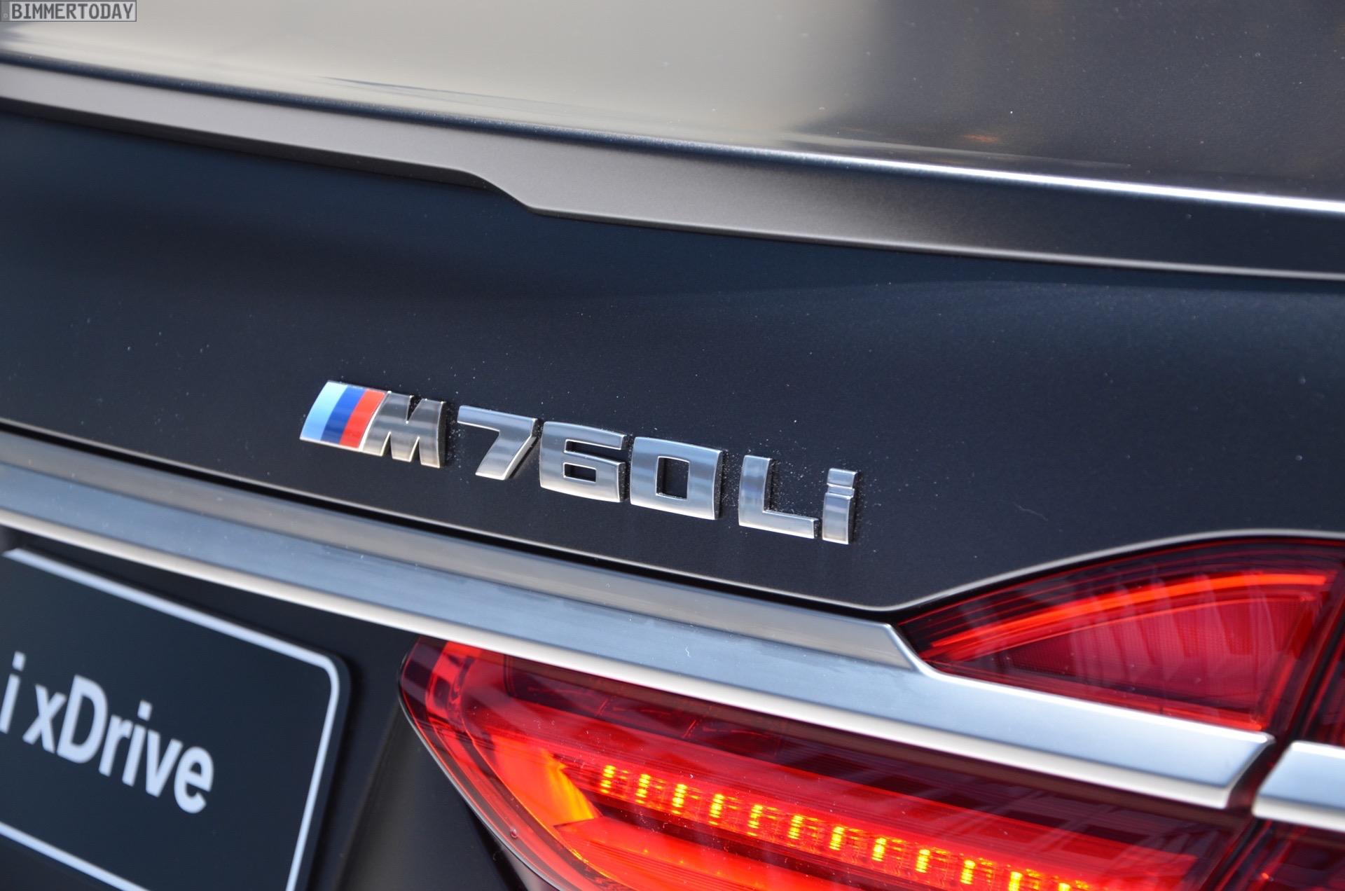 BMW M760Li G12 V12 xDrive 7er 2016 Frozen Dark Brown Genf Live 11
