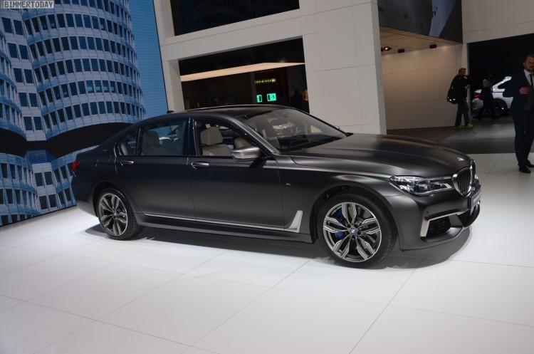 BMW M760Li G12 V12 xDrive 7er 2016 Frozen Dark Brown Genf Live 15 750x497