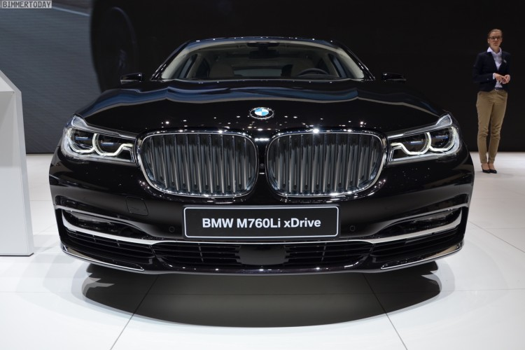 BMW M760Li G12 xDrive V12 Excellence 7er Individual Genf 2016 Live 03 750x500