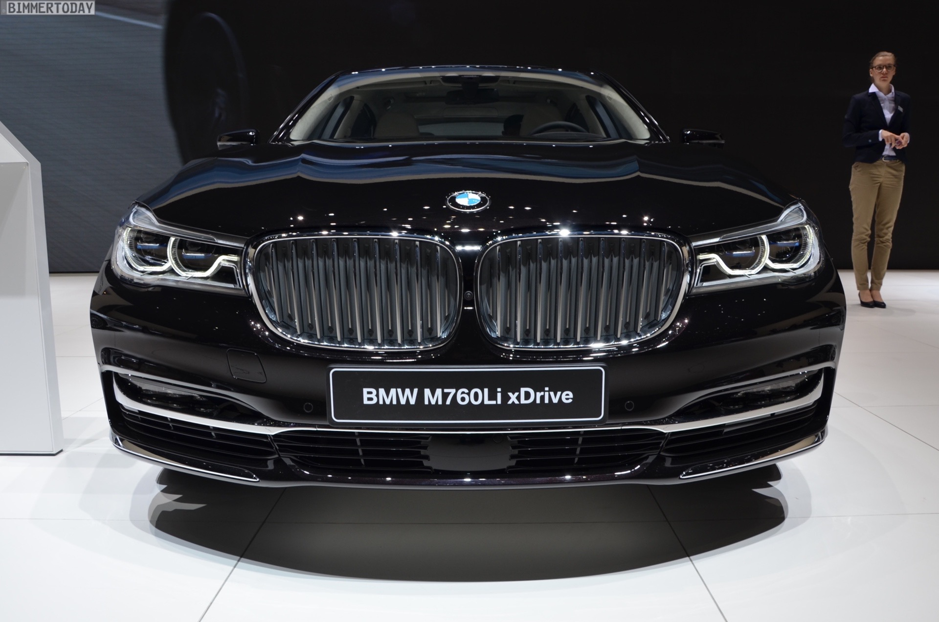 This Is The Top Bmw 7 Series Model Bmw V12 M760li Excellence