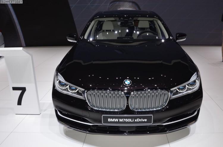 BMW M760Li G12 xDrive V12 Excellence 7er Individual Genf 2016 Live 10 750x496