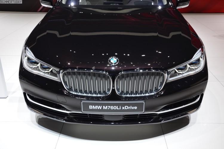 BMW M760Li G12 xDrive V12 Excellence 7er Individual Genf 2016 Live 151 750x500
