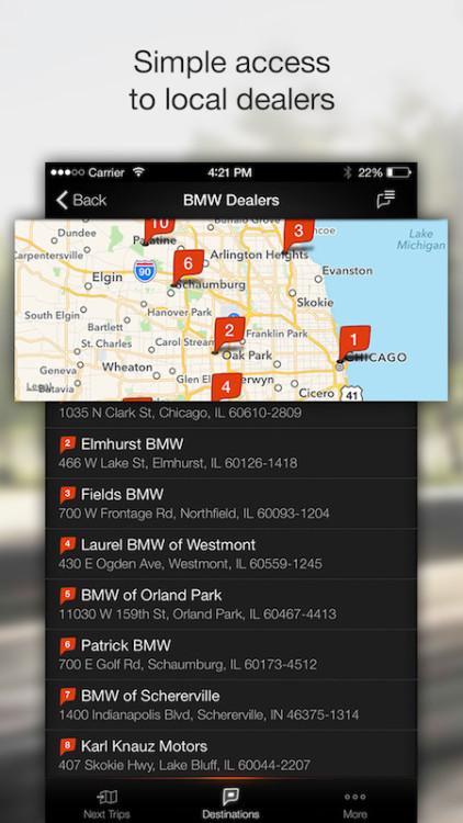 BMW Personal Mobility Companion 5 422x750