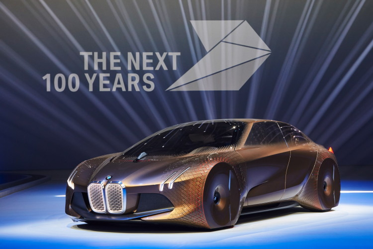 Does Bmw S Vision Next 100 Continue The Gina Concept Design