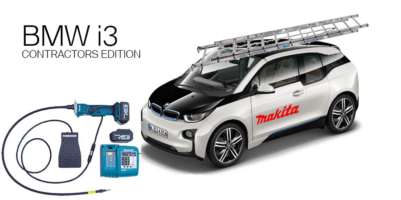 BMW i3 Contractors Edition