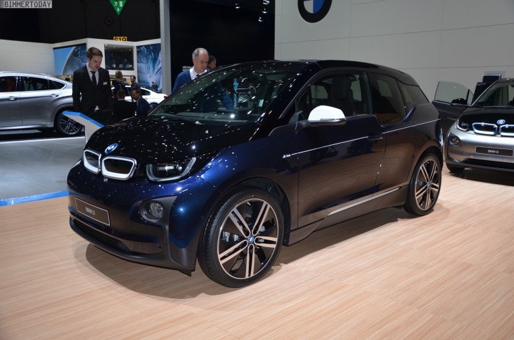 BMW i3 MR PORTER Design Limited Edition 2016 Genf Autosalon Live 01 750x497