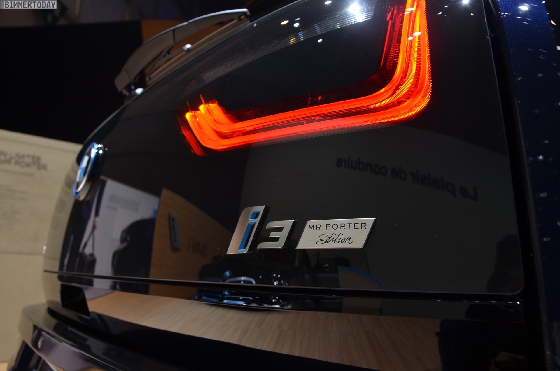 BMW i3 MR PORTER Design Limited Edition 2016 Genf Autosalon Live 03
